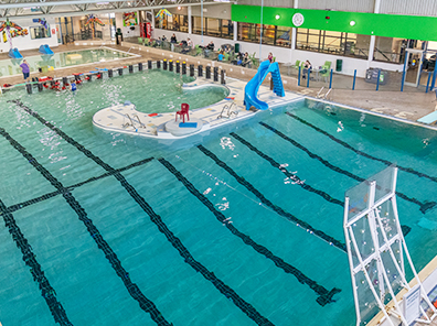 Photo of the St. Albert Dodge Leisure Pool