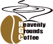 Image of Heavenly Grounds Coffee logo
