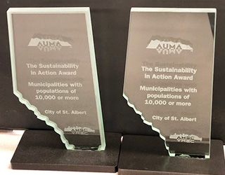 Awards won for Sustainability in Action