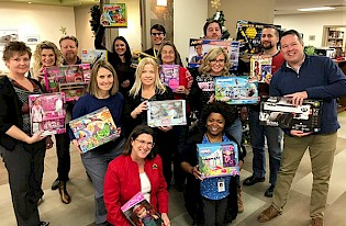 Assessment Services and Economic Development charity gift exchange