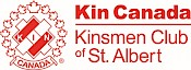 Kinsmen Club of St. Albert logo